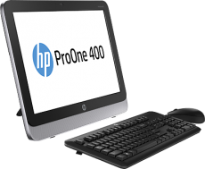 Моноблок HP ProOne 400 AIO (Pentium/G3220T/2600MHz/4Gb/500Gb/19.5/DVDRW/WiFi/BT/W8.1P/Black)